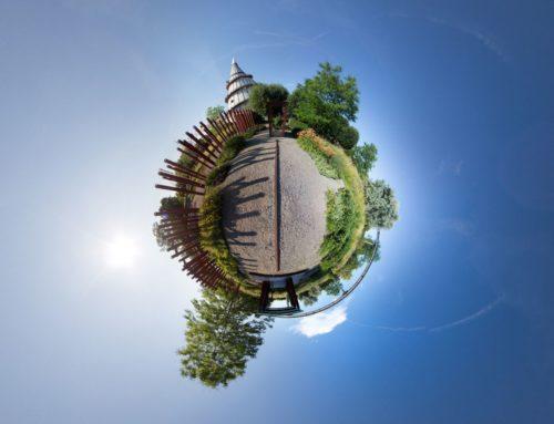 Elbauenpark / Auf der Schiene