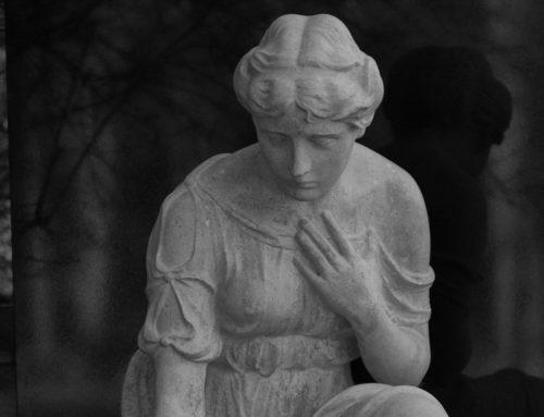 Magdeburg – Skulptur Westfriedhof